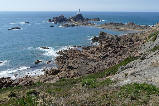 Lighthouse, Tower, Coast, Beacon, Atlantic, Jersey