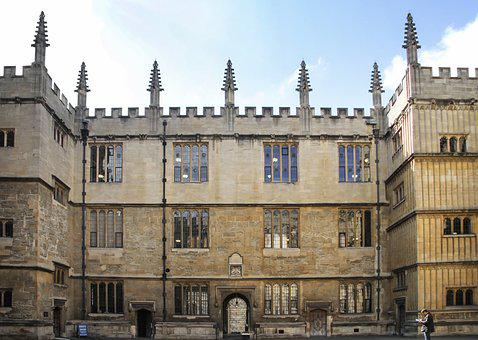 Bodleian Library, Duty Copy Library, University, Oxford