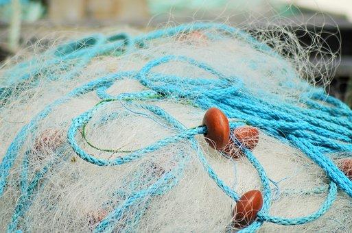 Net, Fishing Nets, France, Fishing, Fisherman, Sea