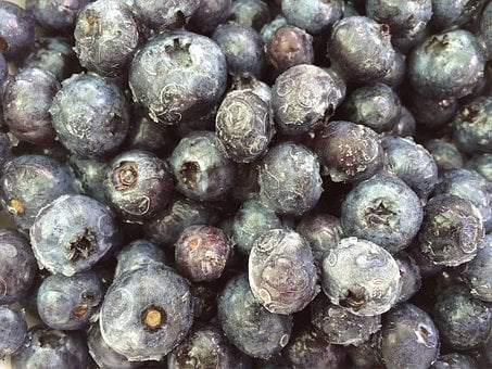 Blueberries, Fruit, Frozen, Berry, Food, Sweet