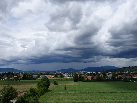 Rain Front, Rain Clouds, Rain, Sky, Gloomy, Cloud Mood