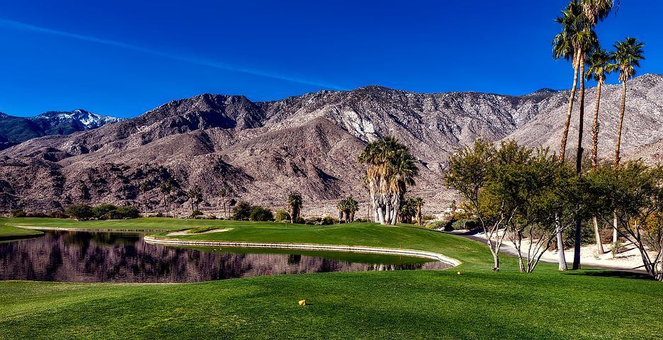 Indian Canyon Golf Resort, Golf Course, Greens