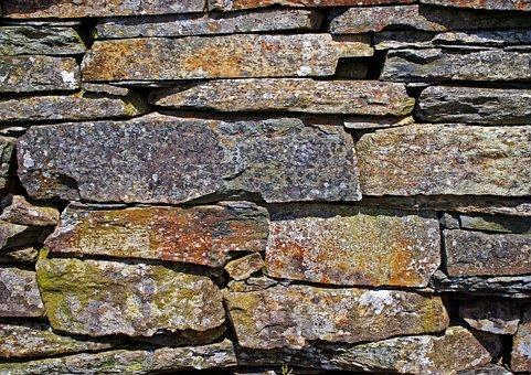 Slate, Slate Wall, Wall, Stone, Brick, Gray, Backdrop