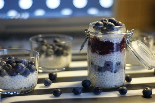 Tapioca, Blueberry, Blackberry, Berry, Fruit, Healthy