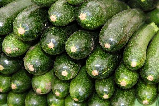 Zucchini, Vegetables, Food, Healthy, Vitamins, Eat