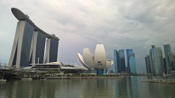 Singapore, Hotel, Marina Bay Sands, Metropolis