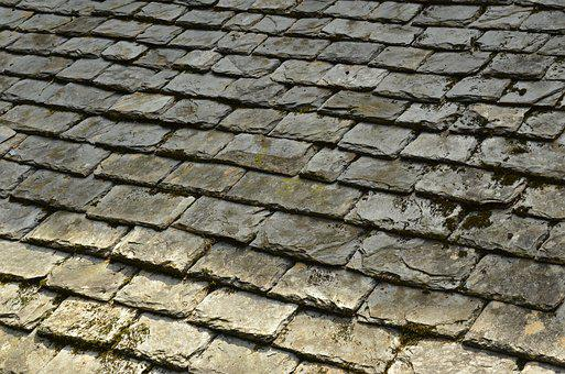 Lei, Slate, Natural Stone, Roof, Roof Tile, Roofing