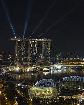 Marina, Marina Bay, Marina Bay Sands Hotel, Sands Hotel