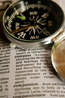 Compass, Definition, Word, Dictionary, Text, Page, Book