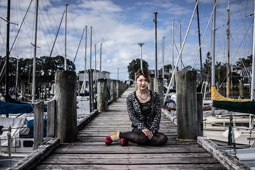 Portrait, Auckland, New Zealand, Yacht, Colorful