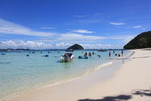 Thailand, Phuket, Beach, Tourism, Pp Island, Beauty