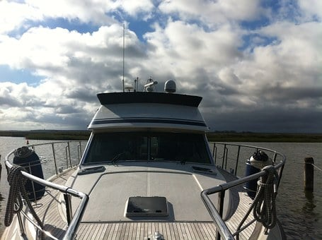 Yacht, Suitable For Offshore, Ship, Water, Boot