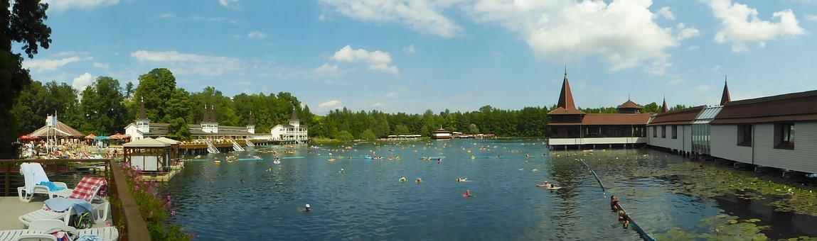 Heviz, Hungary, Lake, Vacations, Recovery