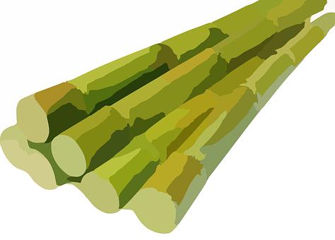 Sugarcane, Cane, Harvested, Bunch, Sweet