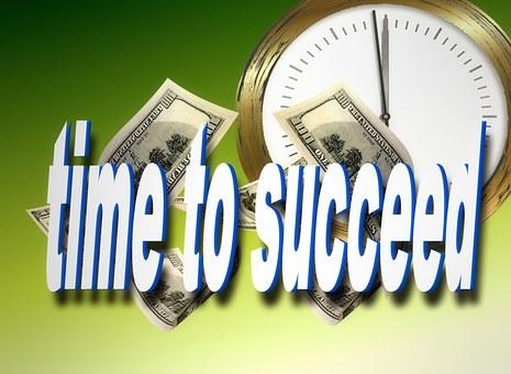 Clock, Money, Success, Currency, Dollar
