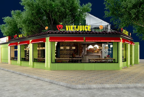 Fruit Juice, Interior, Exterior, Picture, To Design