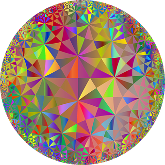 Mandala, Triangles, Geometric, Polygons, Abstract