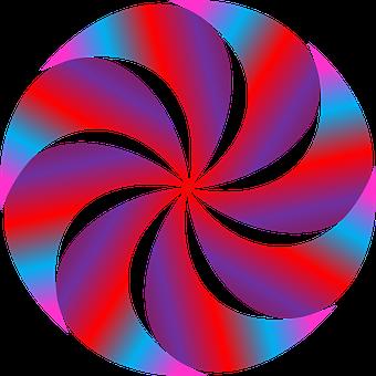Gradient, Swirl, Design, Element, Bold, Vivid, Vibrant