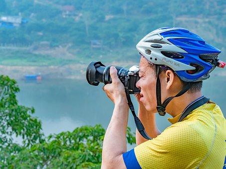 Take Photos, Camera, Water, Trees