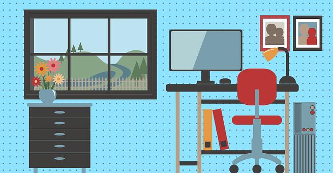 Workroom, Office, Design, Work