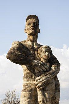 Sculpture, Monument, Art, City, Landscape, Historical