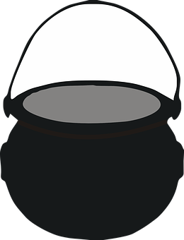 Cauldron, Pot, Cooking, Boiling, Treasure, Leprechaun