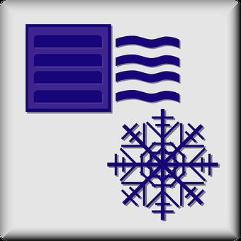 Air Conditioned, Hotel, Facility, Sign, Symbol, Icon