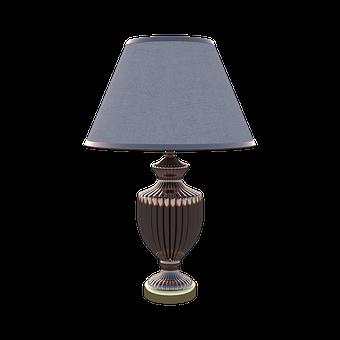 Lamp, Table, Light, Room, Decor