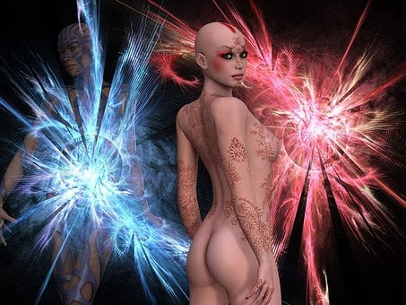 Abstract, Twin, Science Fiction, Twin Flame, Illusion