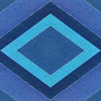 Textile, Fabric, Geometric, Design, Blue, Shades