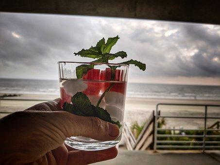 Drink, Relax, Beverage, Cocktail, Glass, Travel, Break