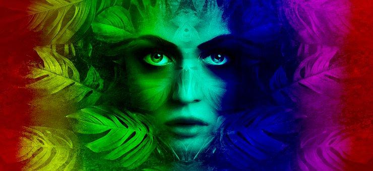 Rainbow, Mother Nature, Gaia, Nature, Fantasy, Goddess