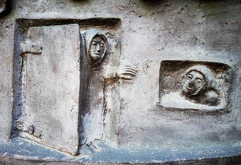 Capuccino, Friar, Convent, Religious, Art, Sculpture