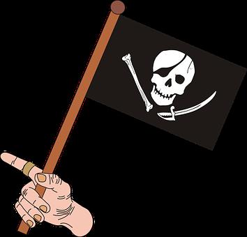 Graphics, Pirate, Skull, The Pirate Flag, Shin