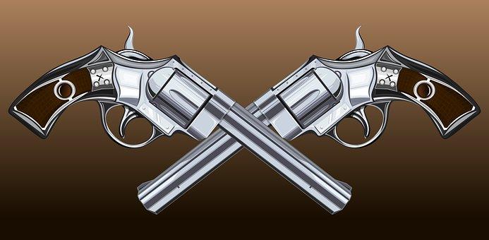 Gun, Trunk, Weapons, Revolver, Caliber