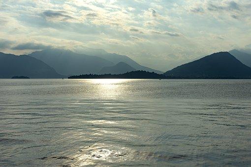 Lago Maggiore, Mountains, Lake, Landscape, Lombardy