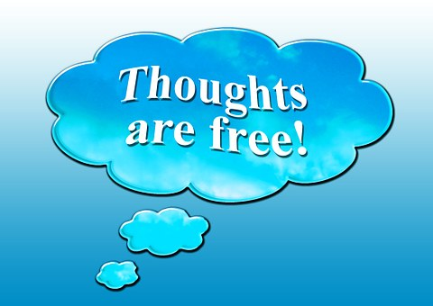 Thoughts, Clouds, Font, Free, Freedom, Think, Muzzle