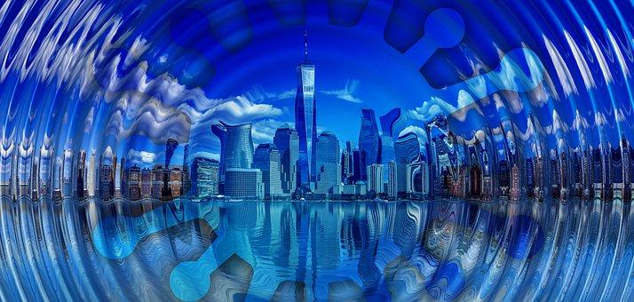 New York, The Epicenter, Center, Usa Covid-19, Outbreak