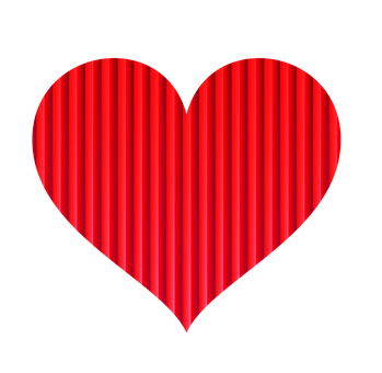 Heart, Red, White, Love, Plate, Design, Graphics