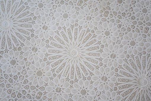 Background, Pattern, Texture, Plaster, White, Design
