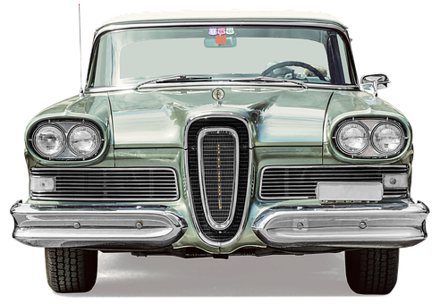 Ford, Edsel, Limousine, Born In 1958, Free And Edited
