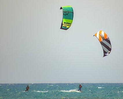 Kite, Kitesurfing, Sport, Sea, Wind, Surf, Kitesurfer