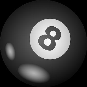 Ball, Billiards, Sphere, Eight, Number 8, Pool, Snooker