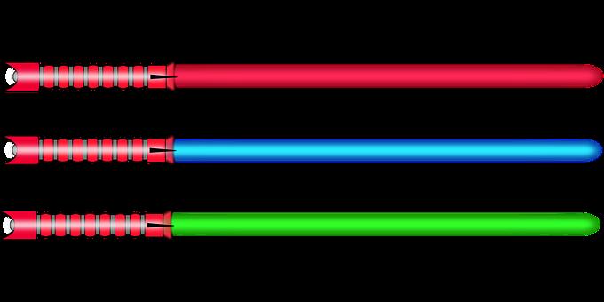Lightsaber, Light, Saber, Sword, Weapon, Fictional