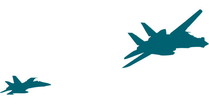 Jets, Military, Aircraft, Planes, Silhouette, Army