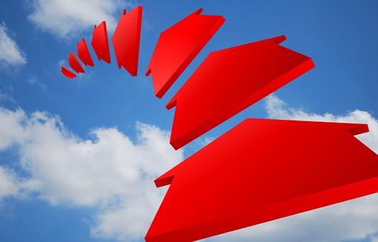Air, Arrow, Chart, Clouds, Curve, Depth, Direction