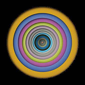 Circle, Abstract, Geometric, Art