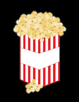 Popcorn, Corn, Food, Snack, Movies, Film, Theater