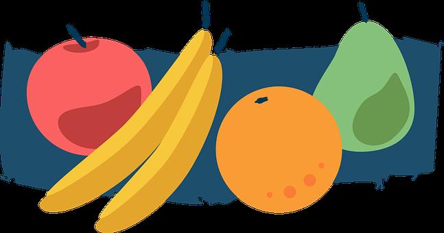 Fruit, Fruits, Stylized, Smoothie, Macedonia