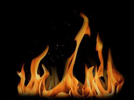 Fire, Outbreak, Flame, Ignite, Horizon, Illuminate